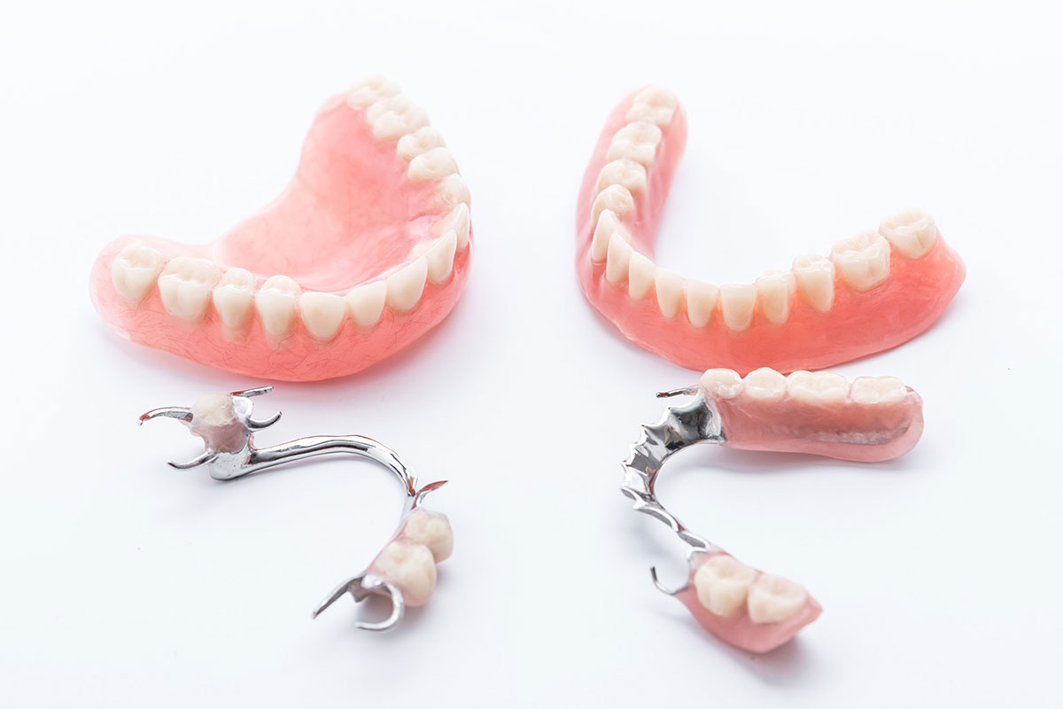 full and partial dentures